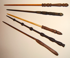 Wooden Wands by Arist0tle