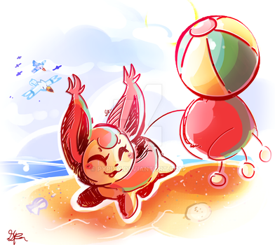 Summer Skitty by Pypixy