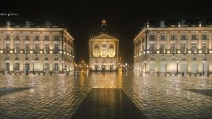 Place de la Bourse by MarioGuti