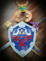 The Legend of Zelda Skyward Sword Props by darrentpART