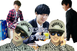 Super Junior Yesung PNG Pack by kamjong-kai