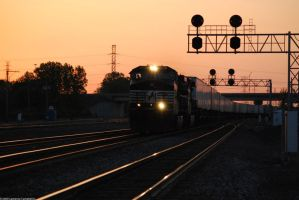NS at Dusk 5-17-09 by the-railblazer