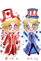 July 2014: Canada and America by SteroHeartsButterfly
