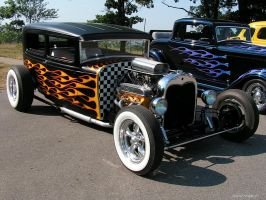 Flamed and Checkered by colts4us