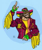 Macho Man Randy Savage: DIG IT by TheMonkeyYOUWant