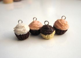 Scented Cupcake Charms I by vivee