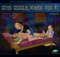 GUYS GIGGLE, WOMEN WIN #1 Cover Art by MTJpub