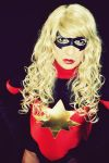 Dark Reign Ms Marvel Cosplay by ozbattlechick