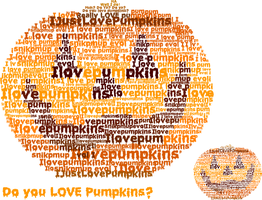 I love Pumpkins by de-Mote