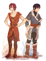 Free! AU: avatar by Demoniica