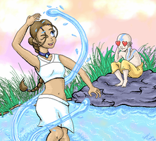 Water Dance by Sharulia