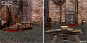Dragon Age II: Merrill's Room scenery model by Berserker79