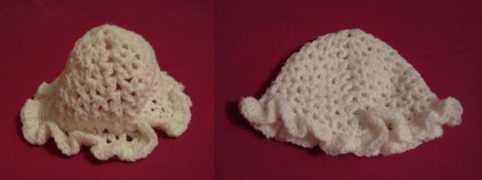 baby girl hat by Angie85