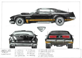 Mustang project by frenhiiop