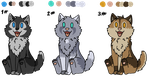 Puppy Adoptables - OPEN by ChibiCorporation