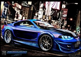 Mitsubishi Eclipse chopstar by stjoseph1903