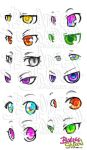 eye reference by blondeeshadow