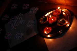 Let the lite shine ever n  path will begin to glow by Laxmi-Arts