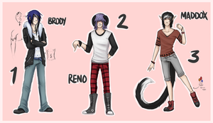 Old OC Adopts [CLOSED] by strxbe