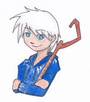 chibi Jack Frost by Engelmoon