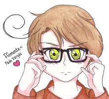 //APH// |Piemonte| .:Glasses:. by MrsCute-chan