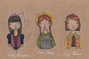 book ladies 3 by Endofmarch