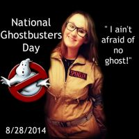 Happy National Ghostbusters Day! by MoriartysMuffins
