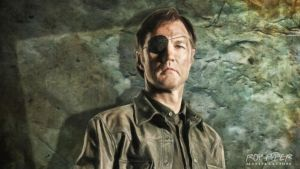 TWD: The Governor: Oil Paint Desktop by nerdboy69