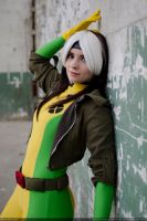 Rogue and a wall by Kythana