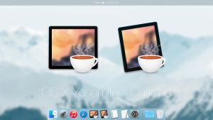 OS X Yosemite - Caffeine by AppleIconDesign