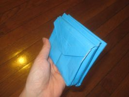Duck tape wallet by recycledrapunzel