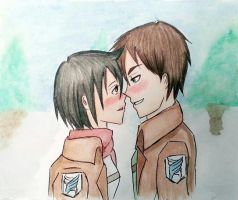 I love you, Mikasa ! :* by strawhatapple15