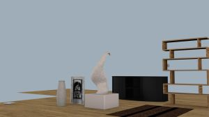 Livingroom object wip 2 by Thosar