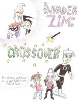 Invader Zim: Crossover cover by Tallest-Ariva