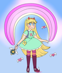 Star Butterfly by Ashourii