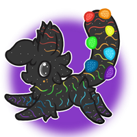 Chibi #5 (CLOSED) Sour Gumdrops by BittyPaws