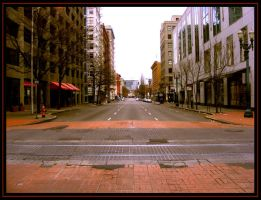 Thanksgiving downtown by wolfpupgrl14