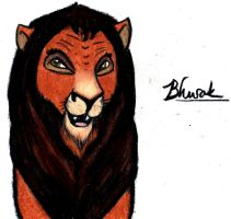 BHURAK Lion-King-a-fied by harrimaniac27