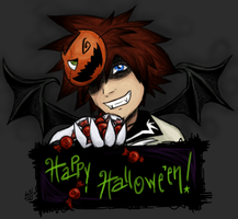 holiday : halloweentown sora by kumquatgirl