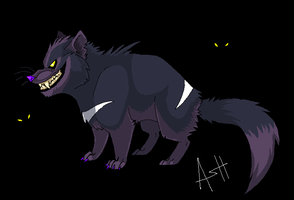 Tasmanian devil by Ash-Dragon-wolf