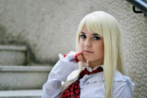 Lili Rochefort cosplay from Tekken by ValeeraHime