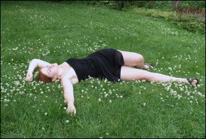Lying On The Grass by Eirian-stock