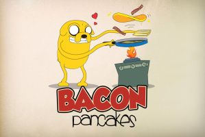 Making Bacon Pancakes by nazo-gema