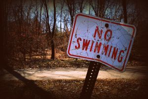No Swimming by cassiedj