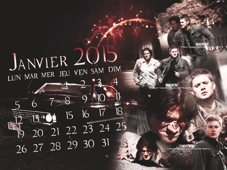 January 2015 Supernatural by N0xentra