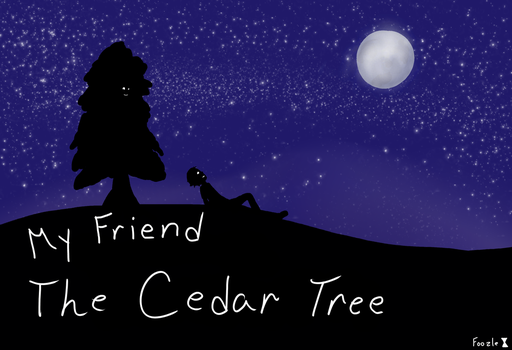The Cedar Tree. by FoozleDrawer