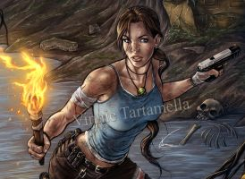 Tomb Raider closeup by VinRoc