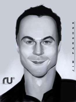 Jim Parsons by RahulUjjal