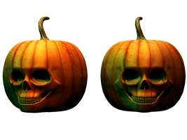 Spooky Halloween Pumpkin Stock by Jumpfer-Stock