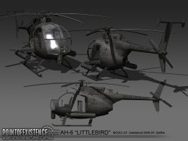 Ah-6 Littlebird by Spitfire51